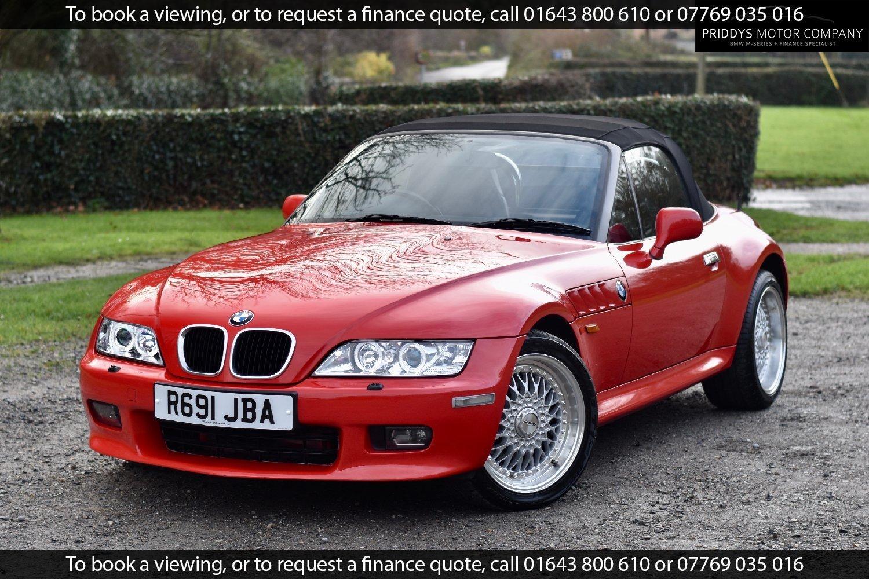 Used Bmw Z3 In Minehead Somerset Priddys Motor Company